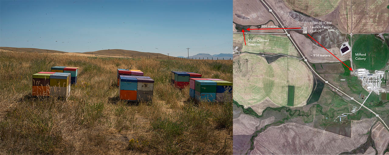 Gulf-09 and Multi-Colored Beehives