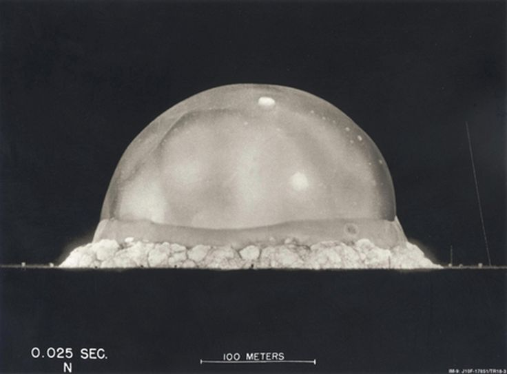 Trinity Detonation .025 seconds