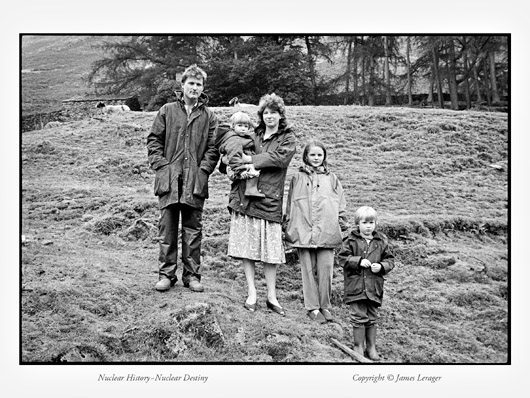 """Tony and Diana Halliday live with their children on a small farm in the Lake Country of England, directly east of Britain's Sellafield nuclear complex, where reactors create plutonium for nuclear weapons, and electricity for civilian power. The prevailing coastal winds blow over the nuclear facility toward their farm. Although British Nuclear Fuels claims that emissions from the complex are """"below regulatory concern,"""" the Hallidays are aware of excess childhood leukemia rates in their region. They do not trust they would be warned in the event of a major nuclear accident. In the nearby valley where Diana grew up, three farmers from her father's generation died from brain tumors, while still in their fifties."""